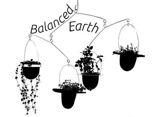 Balanced-Earth succulent plant-mobiles