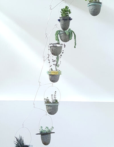 Eight vessels suspended Balanced-Earth plant mobile