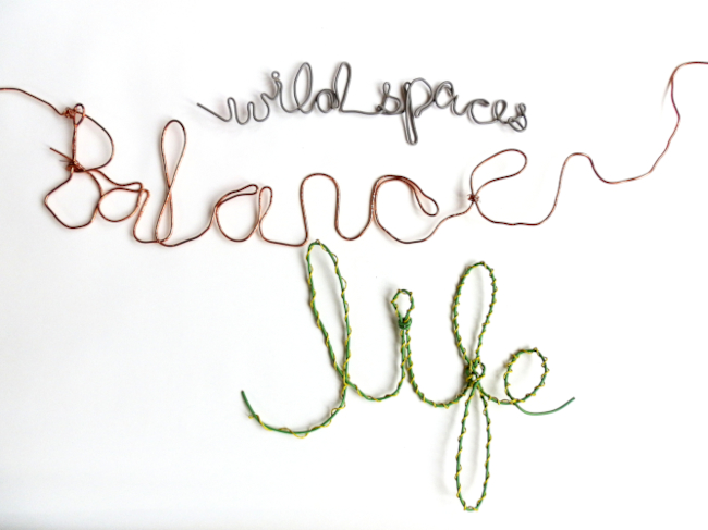 Wild spaces balance life from Hope Calling project Karen Whiterod