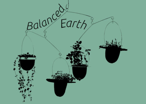 Balanced-Earth logo with background